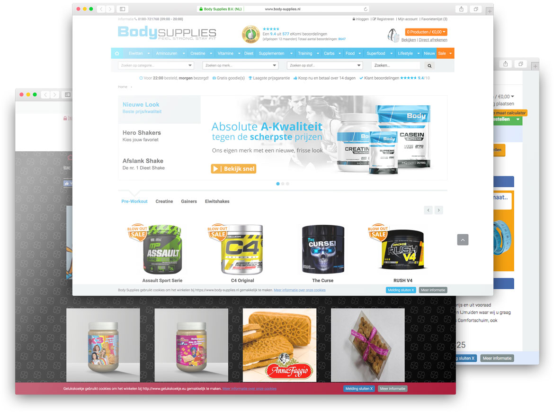 ElexioShop webwinkels
