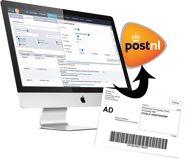 Orders rechtstreeks exporteren naar PostNL