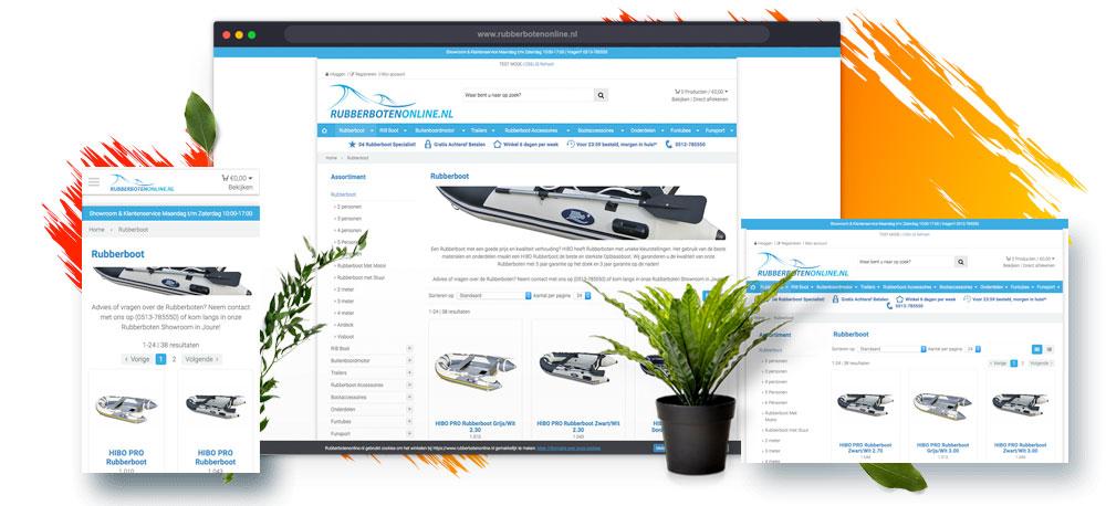 Webwinkel mogelijkheden