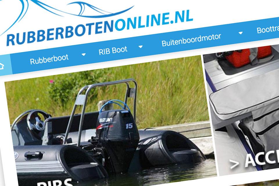 Rubberbotenonline.nl webwinkel
